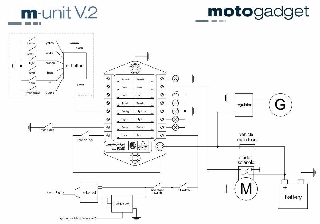 MotoGadget   M-Unit Blue on
