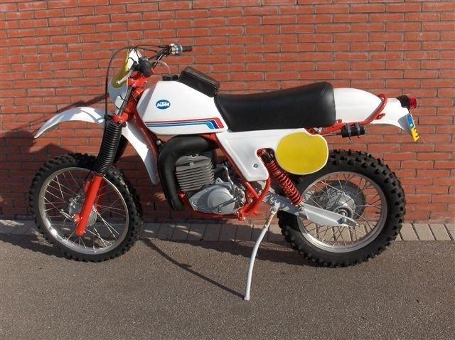 1978 KTM 250GS Enduro  (verkocht)