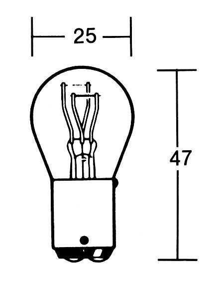 Lamp 21/5Watt