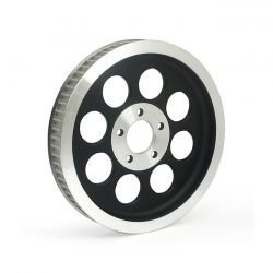 Pulley Rear | 00-06 Dyna | 70 Teeth | Black