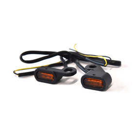 HANDLEBAR MARKER LIGHTS LED BLACK