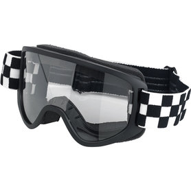 Biltwell Moto 2.0 Bril Checkers Zwart