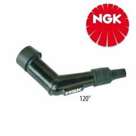 NGK Bougiedop | Zwart | 14mm | 120°