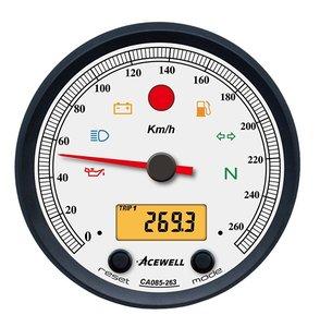 Kilometerteller & Toerenteller | Acewell | Wit