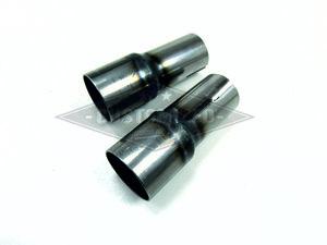 Uitlaat Verloop Set   38mm naar 44,5mm