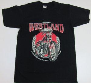 T-shirt   Westland Customs Chopper