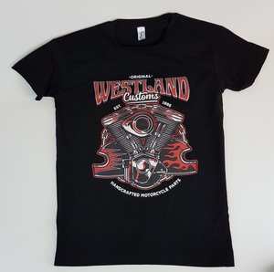 T-shirt   Westland Customs V-Twin