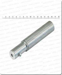 Gashendel   25,4mm (1