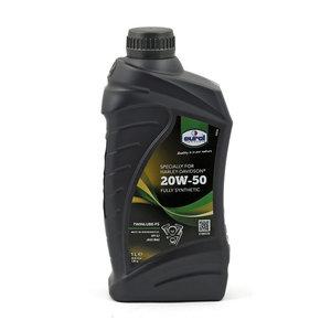 Motorolie   Eurol 20W-50   1 Liter   Vol Synthetisch