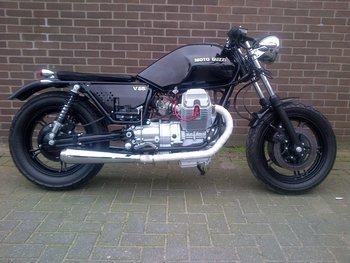 1983 Moto Guzzi V65 Brat Style (verkocht)