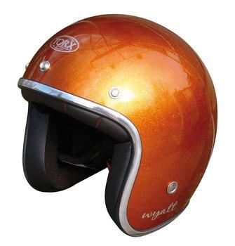Helm | Torx Wyatt | Oranje Metallic Flakes