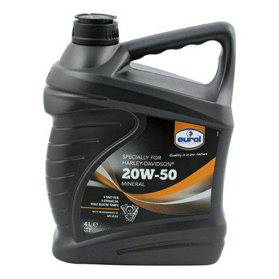Motorolie | Eurol 20W-50 | 4 Liter