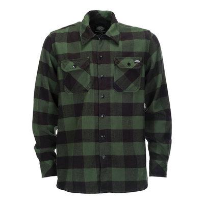 Dickies Shirt   Sacramento   Pine Green