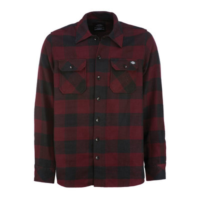 Dickies Shirt   Sacramento   Maroon