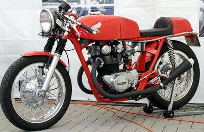 1971 Honda CB450K1 Café Racer (verkocht)
