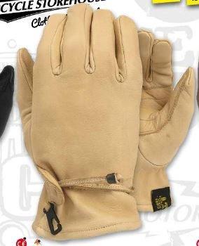 Biker Handschoenen | Creme