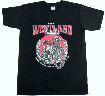 T-shirt | Westland Customs Cafe Racer