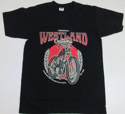 T-shirt | Westland Customs Chopper