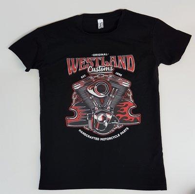 T-shirt | Westland Customs V-Twin