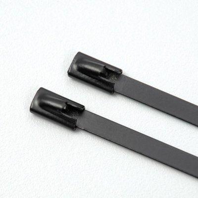 Tie Wrap | RVS | Zwart | 30 cm