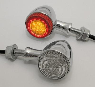 Combi Achter | LED | Bullet | Chroom