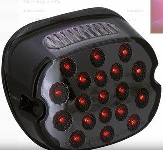Achterlicht   LED   H-D   99-21 Modellen   Smoke   Type2