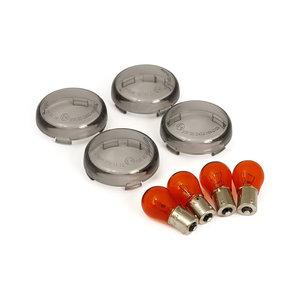 Richtingsaanwijzerglaasjes | Bullet | 00-18 XL | Smoke
