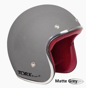 Helm | Torx Wyatt | Mat Grijs